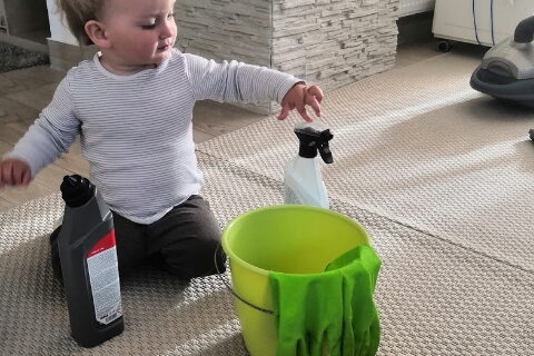 Úklid s dětmi – úklid hrou