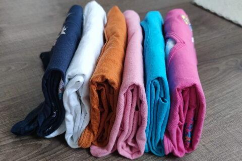 Marie Kondo – kategorie oblečení